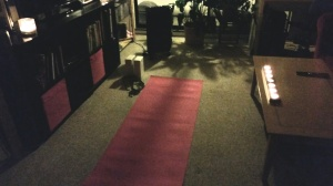 My late night yoga session before bed - slept like a baby!