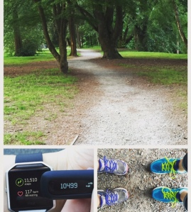 Thursday's walk with the bestie...we killed the 10K step goal after a healthy yummy vegan dinner :)
